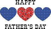 bandana hearts fathers day