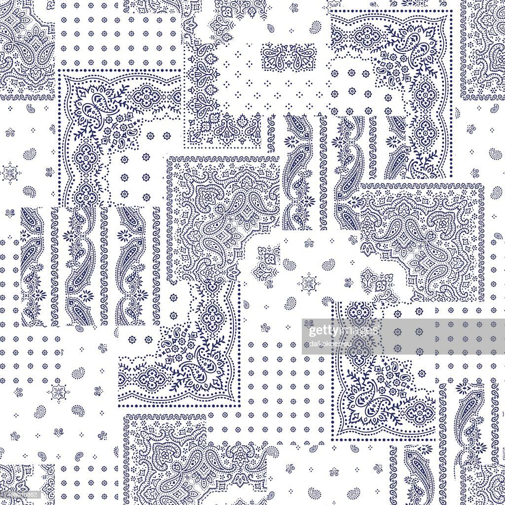Bandanna design patchwork