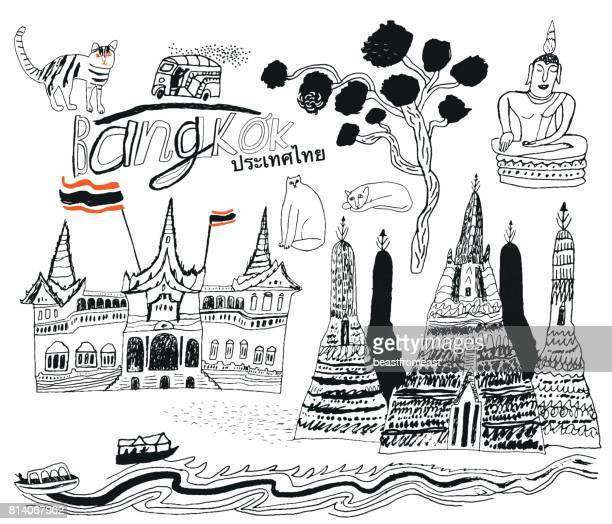 Bangkok en Thaïlande Asie