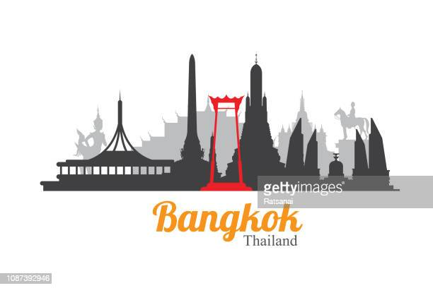 bangkok - thailand stock illustrations