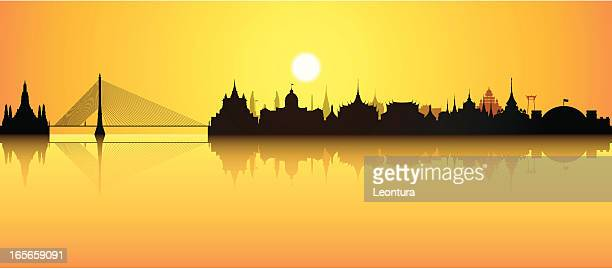 Bangkok (tous les bâtiments sont détaillées, et amovible