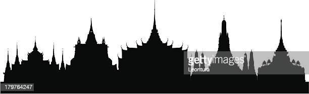 Bangkok (Chaque bâtiment est amovible et complètes)