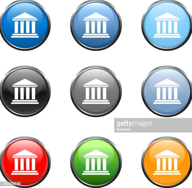 bank court house royalty free vector art royalty free vector