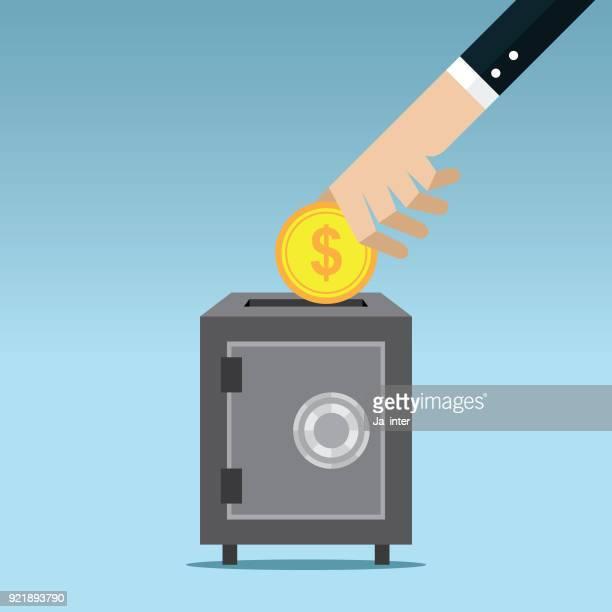Bank safe & Finance