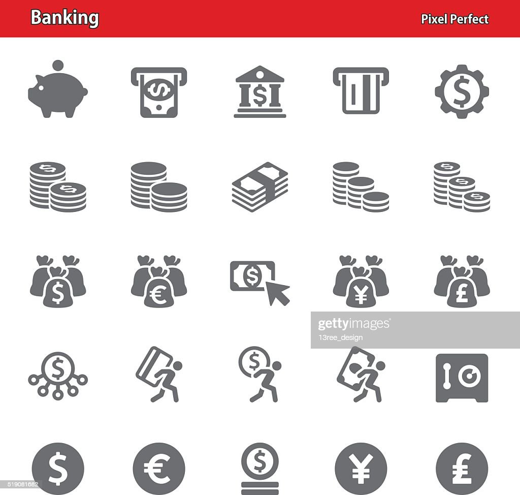 Banking Icons - Set 2