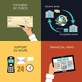 Banking set icons