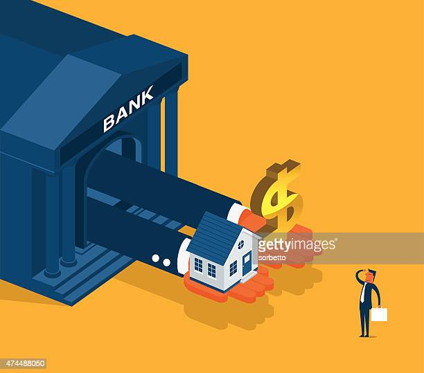 banking - mortgage loan stock illustrations