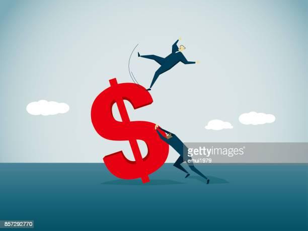 bankruptcy, - deterioration stock illustrations, clip art, cartoons, & icons