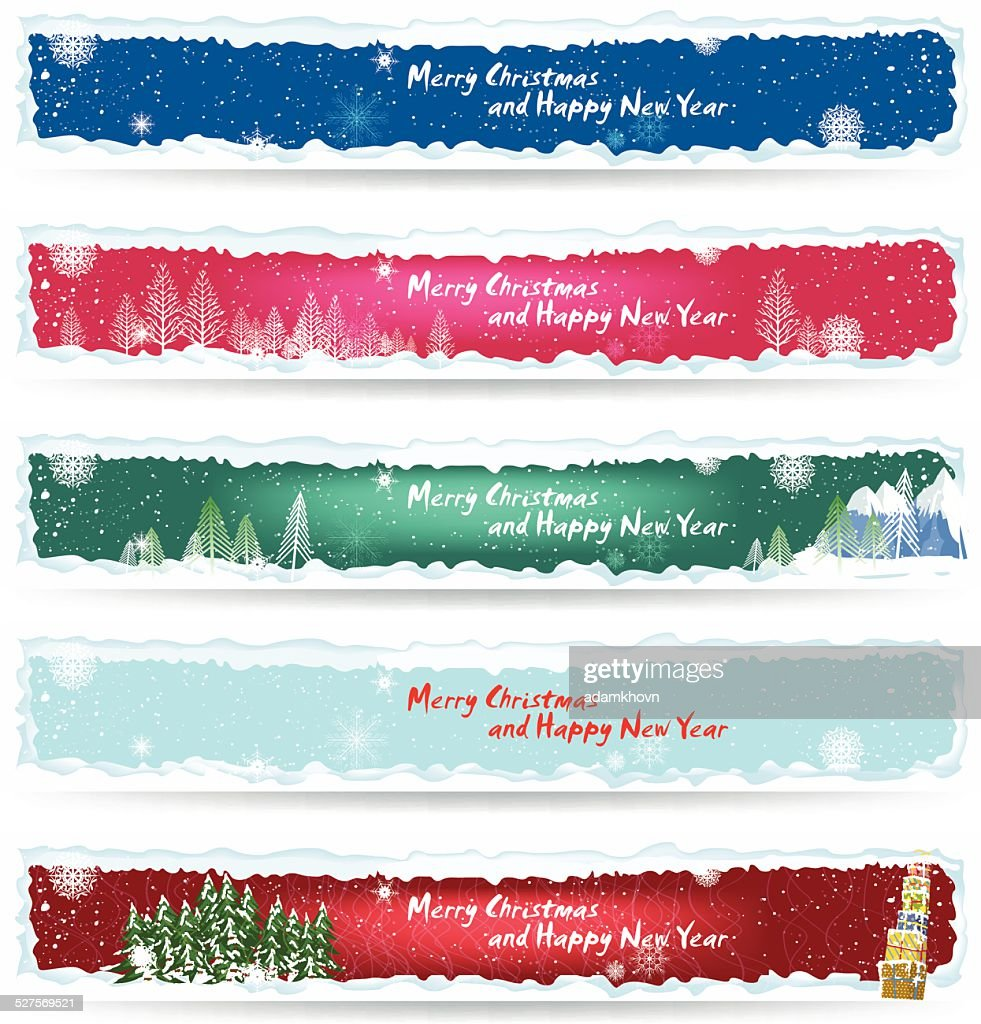 banner christmas