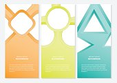 Banner gradient color vector background,Abstract corporate business banner. advertising banner template. vector illustration.