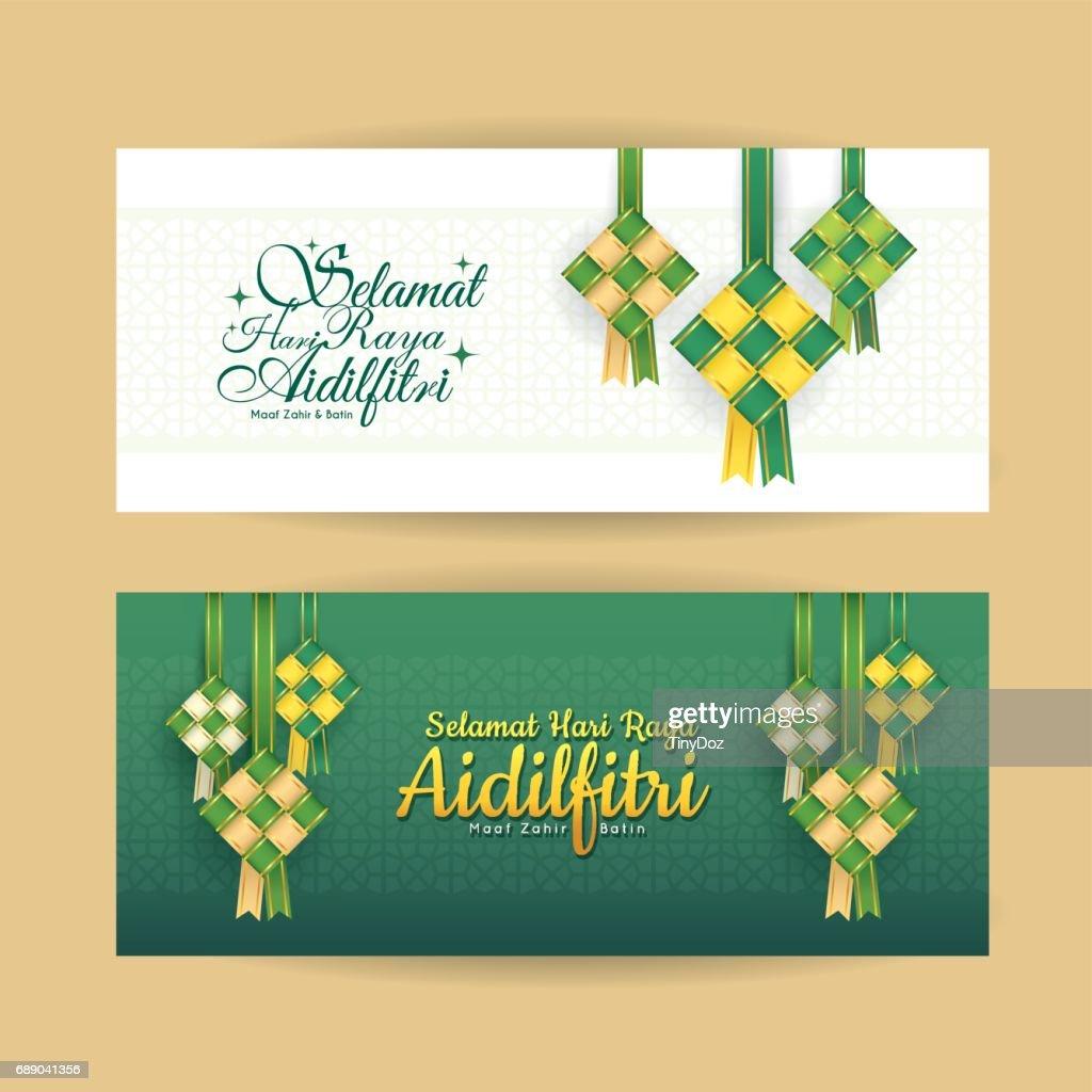 Banner - ketupat