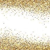 Banner of Gold Sequins