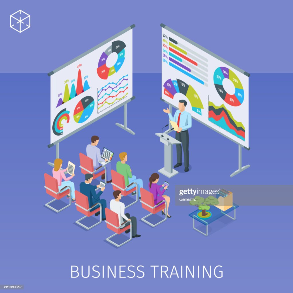 banner on theme business training