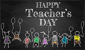 banner or poster for Happy Teacher's Day with nice and creative