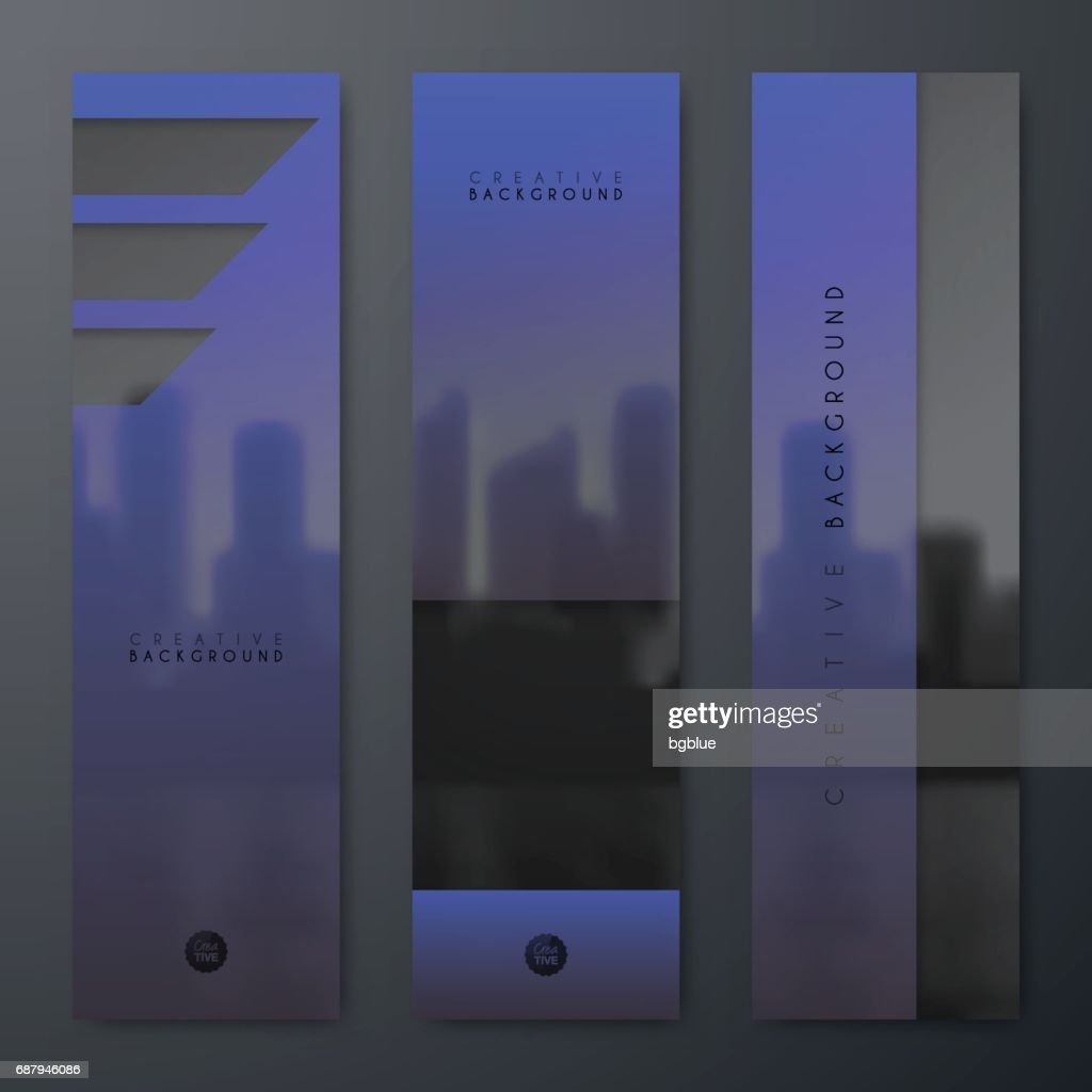 Banners Design Template Creative Design Brochure Flyer High Res Vector Graphic Getty Images