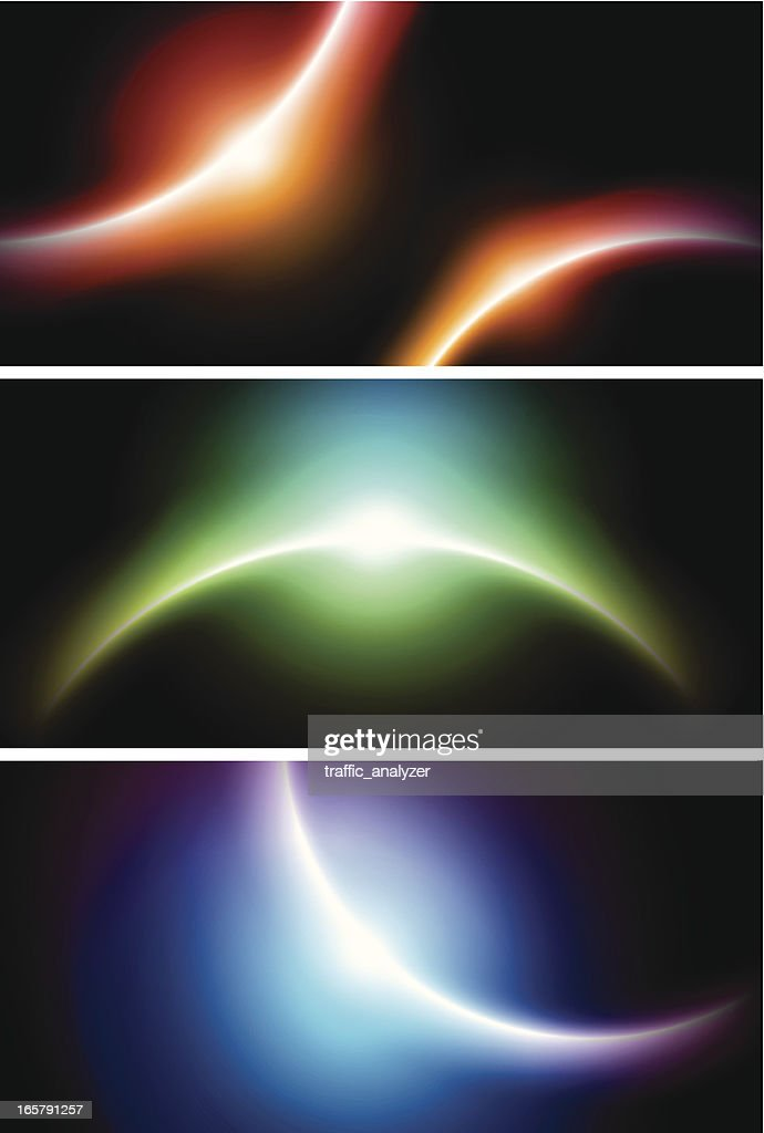 banners with planet shapes vector art getty images