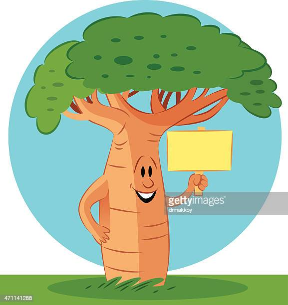 baobab tree - antananarivo stock illustrations, clip art, cartoons, & icons