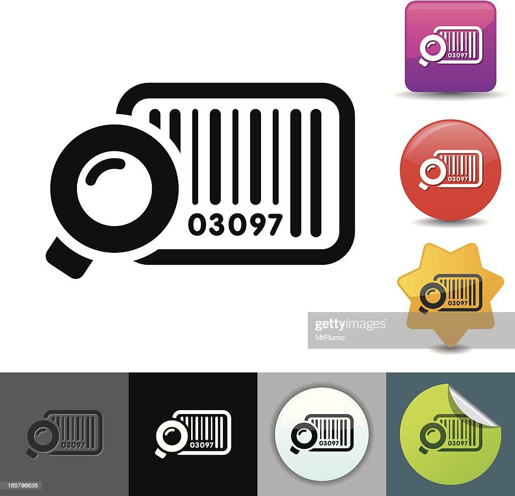 Bar code icon | solicosi series