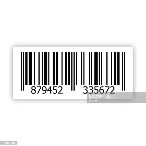 bar code vector - bar code stock illustrations