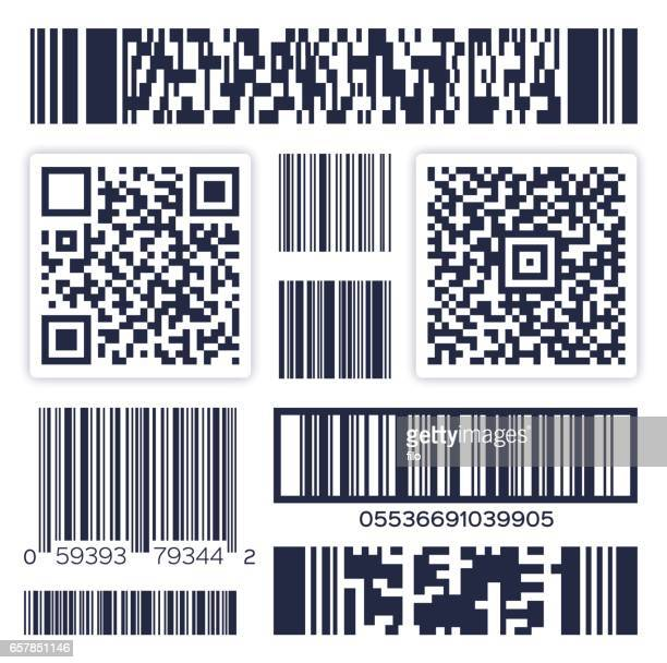 bar codes - shipping stock illustrations