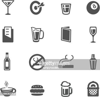 Bar Icons Vector Art Getty Images