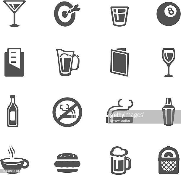 bar icons - shot glass stock illustrations, clip art, cartoons, & icons