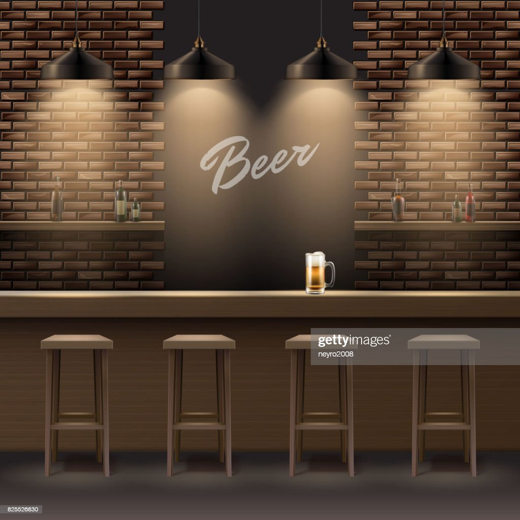 Bar, pub interior