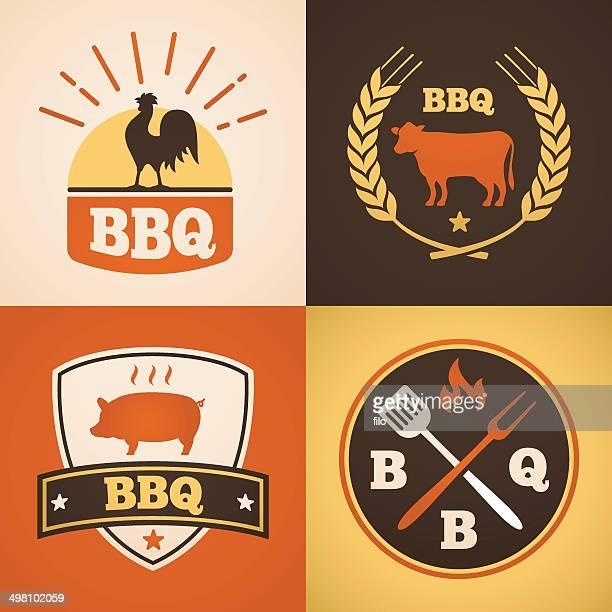 Barbecue Design Elements
