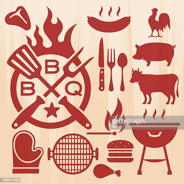 Barbecue Grilling Elements