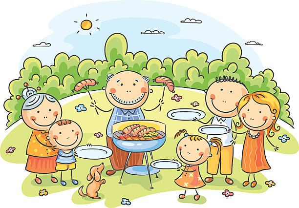 free cartoon bbq images pictures and royalty free stock photos