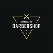 Barber Shop Retro Styled illustration