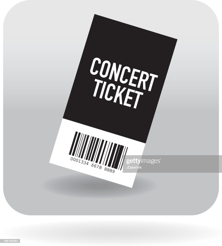 Barcode concert icon