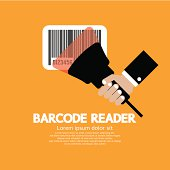 Barcode Reader Graphic Vector Illustration