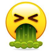 Barfing Emoji Icon