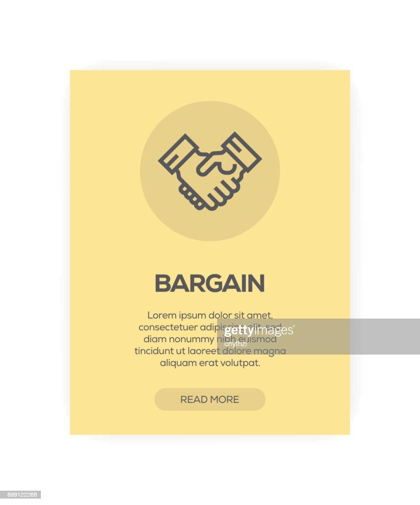 Concepto de negociación : Ilustración de stock
