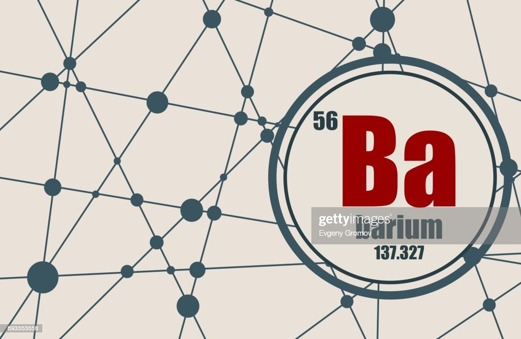 Barium chemical element.