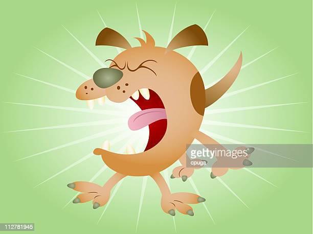 Barking Cartoon Dog