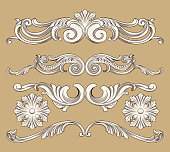 baroque ornament