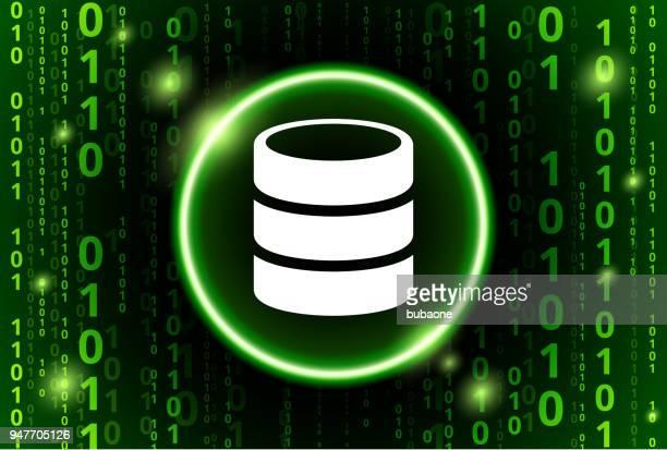 Barrel Binary Code Vector Pattern Background