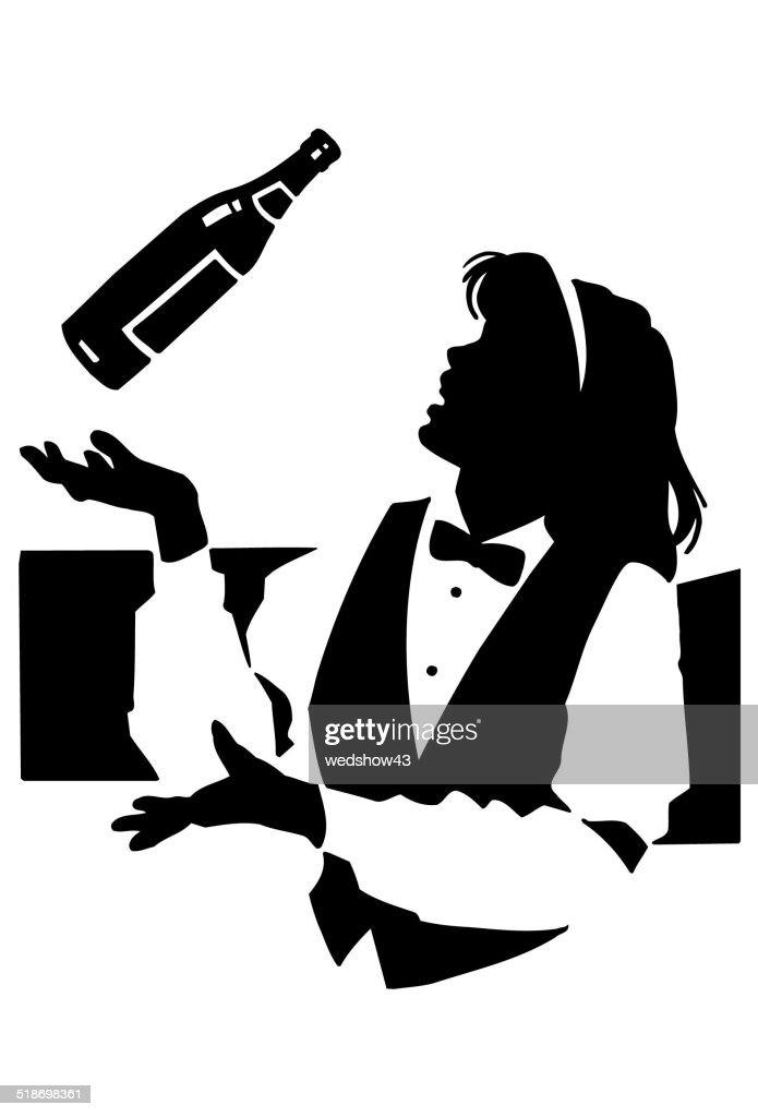 Ausgezeichnet Server Barkeeper Ziel Fortsetzen Bilder - Beispiel ...
