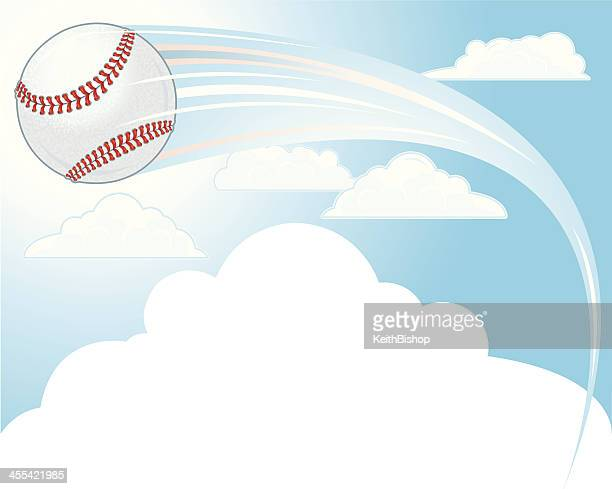 baseball background - hit out of the park background - home run stock illustrations