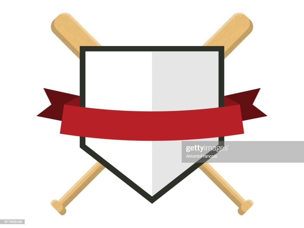 Baseball badge,sport icon,team identity