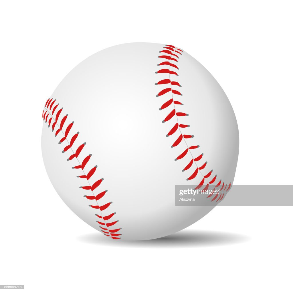 Baseball ball realistic