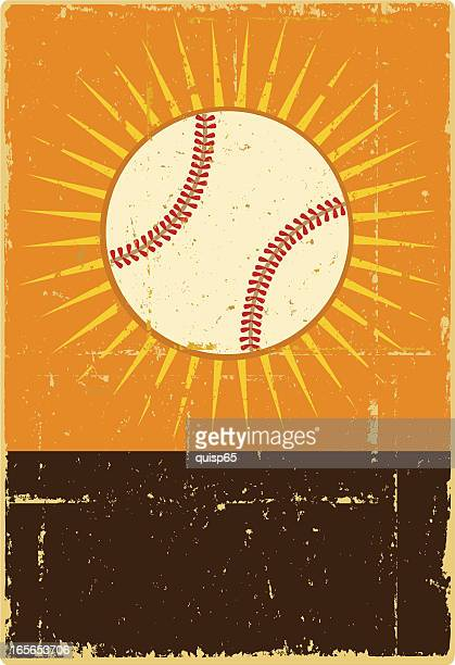 baseball banner - baseball stock illustrations, clip art, cartoons, & icons