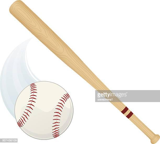 Baseball Schläger und Ball