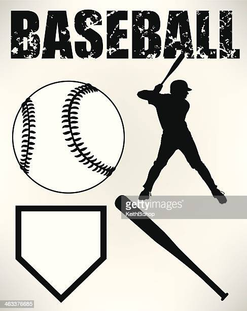 Baseball Batter and Sports Equipment