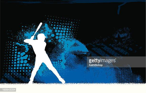 baseball batter background graphic - baseball stock illustrations, clip art, cartoons, & icons