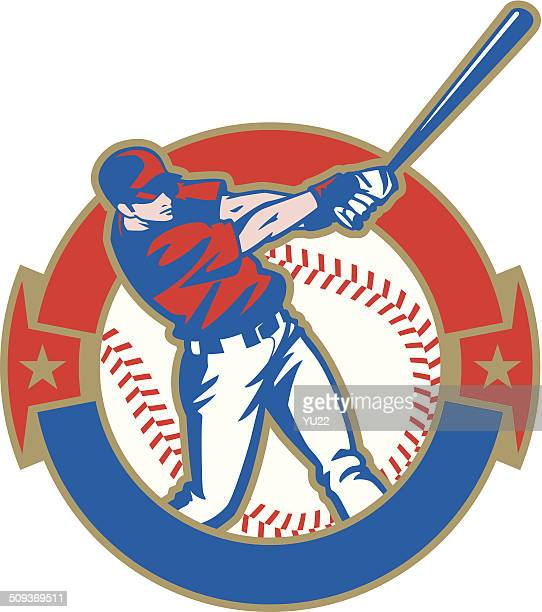 Baseball Batter Crest