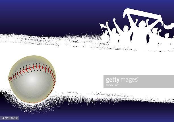 Baseball Blue Background