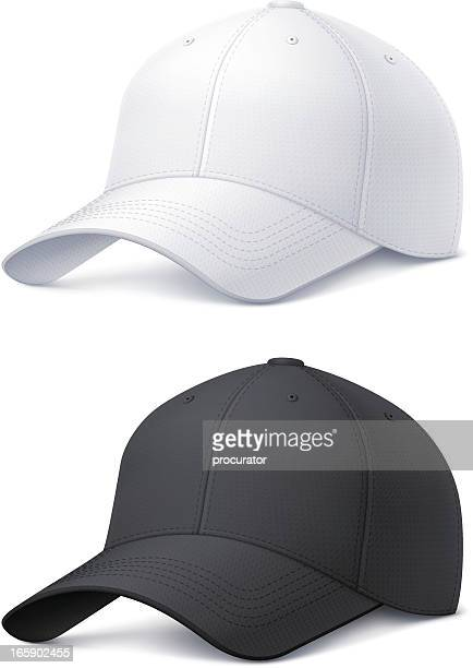 baseball cap - cap hat stock illustrations, clip art, cartoons, & icons
